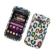 Insten Leopard Hard Rubber Case For Samsung Galaxy Prevail 2/Ring - Multi-Color