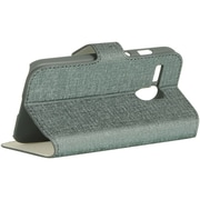 Insten K-Style Vertical Wallet Pouch Leather Flip Card Stand Case For Motorola Moto G (1st Gen) - Gray