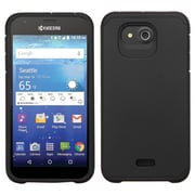 Insten Hard Hybrid Silicone Case For Kyocera Hydro Wave - Black