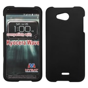 Insten Hard Rubber Coated Case For Kyocera Hydro Wave - Black