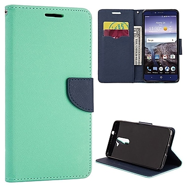 Insten Diary Leather Wallet Flip Card Pocket Stand Case Cover For ZTE Kirk - Teal