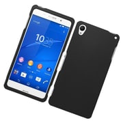 Insten Hard Cover Case For Sony Xperia Z3 - Black