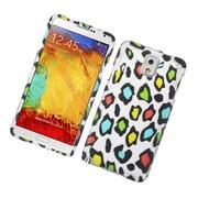 Insten Leopard Hard Rubber Case For Samsung Galaxy Note 3 - Multi-Color