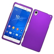 Insten Hard Rubber Coated Cover Case For Sony Xperia Z3 - Purple