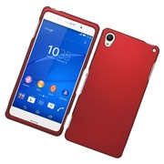 Insten Hard Case For Sony Xperia Z3 - Red