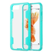 Insten Air Duty Fusion Candy Military Grade Shock Resistant Hybrid Case For Apple iPhone 7 Plus - Clear/Teal