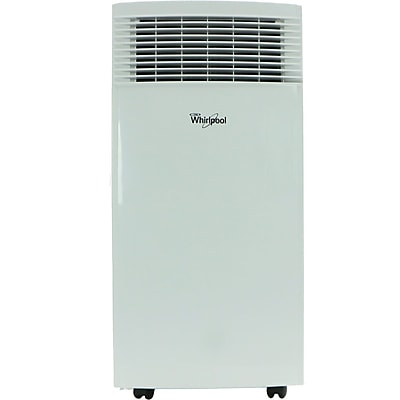 Whirlpool 8,000 BTU Single-Exhaust Portable Air Conditioner with Remote Control in White (WHAP081AW) 24128249
