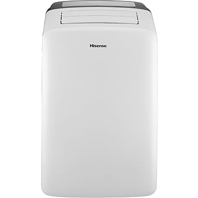 Hisense 10,000 BTU Portable Air Conditioner with I-Feel Temperature Sensing Remote Control (CAP-10CR1SEJS)