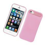 Insten Two-Tone/NightGlow Jelly Hybrid Hard Silicone Case Cover For Apple iPhone 5 / 5S - Pink