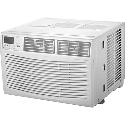 Amana Energy Star 8,000 BTU 115V Window-Mounted Air Conditioner with Remote Control (AMAP081BW) 24128260