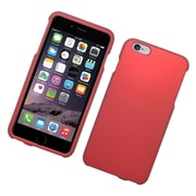 Insten Hard Rubberized Case For Apple iPhone 6s Plus / 6 Plus - Red