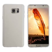 Insten Rubber Cover Case For Samsung Galaxy Note 5 - Clear