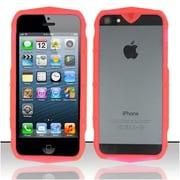 Insten Hot Pink Tank Design Bumper TPU Soft Gel Skin Case Cover For Apple iPhone SE 5