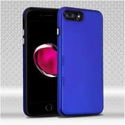 Insten Hard Dual Layer TPU Case For Apple iPhone 7 Plus - Blue