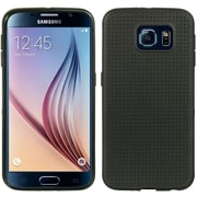 Insten Dots TPU Cover Case For Samsung Galaxy S6 - Black
