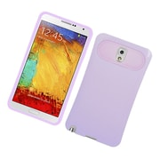 Insten Two-Tone/NightGlow Jelly Hybrid Hard Silicone Case Cover For Samsung Galaxy Note 3 - Purple