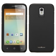 Insten Hard Hybrid Rugged Shockproof Silicone Cover Case For Alcatel One Touch Elevate - Black