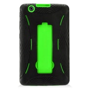Insten Symbiosis Armor Hybrid Hard Stand Shockproof Case Back Cover For LG G Pad 8.0 / G Pad X 8.0 - Black/Green