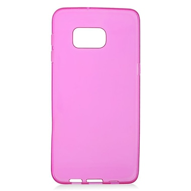 Insten Rubber TPU Gel Case For Samsung Galaxy S6 Edge Plus - Hot Pink
