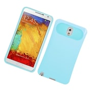 Insten Two-Tone/NightGlow Jelly Hybrid Hard Silicone Case Cover For Samsung Galaxy Note 3 - Blue