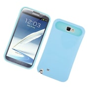 Insten Two-Tone/NightGlow Jelly Hybrid Hard Silicone Case Cover For Samsung Galaxy Note II - Blue