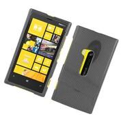 Insten Carbon Fiber Hard Case For Nokia Lumia 920 - Dark Gray