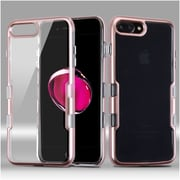 Insten Tuff Hard Hybrid TPU Case For Apple iPhone 7 Plus - Rose Gold