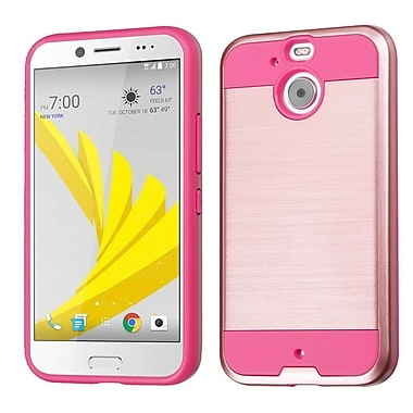 Insten Hard Dual Layer TPU Case For HTC Bolt - Rose Gold/Pink