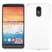 Insten Hard Crystal Case For LG Stylo 3 - Clear