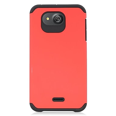 Insten Hard Dual Layer Hybrid Case For Kyocera Hydro Wave - Red/Black