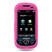 Insten Premium TPU Rubber Skin Gel Back Shell Case Cover For Samsung Suede - Hot Pink