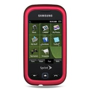 Insten Crystal TPU Rubber Skin Gel Back Shell Cover Case For Samsung Trender - Hot Pink