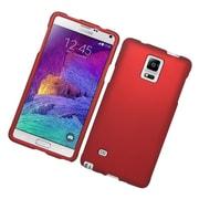 Insten Hard Case For Samsung Galaxy Note 4 - Red