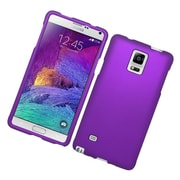Insten Hard Cover Case For Samsung Galaxy Note 4 - Purple