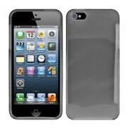 Insten Smoke Plain Plain TPU Soft Gel Skin Case Cover w/ Matte Inside For Apple iPhone SE 5