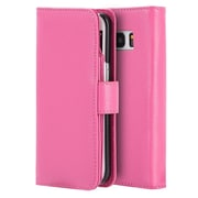 Insten Full Size Flip Leather Wallet Pouch Stand Card Case Cover For Samsung Galaxy S7 - Hot Pink