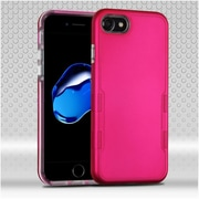 Insten Hard Dual Layer TPU Case For Apple iPhone 7 - Hot Pink
