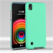 Insten Hard Dual Layer TPU Cover Case For LG X Power - Teal