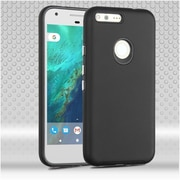 Insten Hard Dual Layer TPU Cover Case For Google Pixel XL - Black