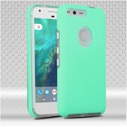Insten Hard Hybrid TPU Cover Case For Google Pixel - Teal