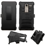 Insten Hard Hybrid Plastic Silicone Case w/Holster For LG Class - Black