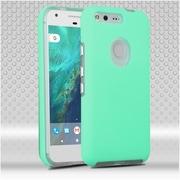 Insten Hard Hybrid TPU Cover Case For Google Pixel XL - Teal