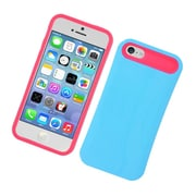 Insten Two-Tone/NightGlow Jelly Hybrid Hard Silicone Case Cover For Apple iPhone 5C - Blue