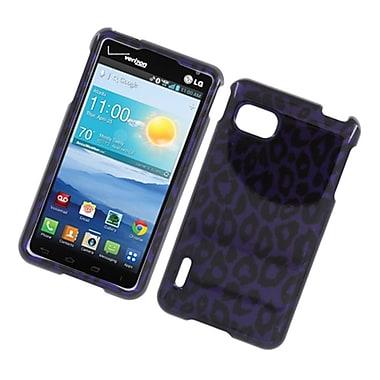Insten Leopard Hard Cover Case For LG Optimus F3 LS720 - Purple
