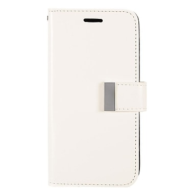 Insten Folio Wallet Leather Case with Card slot & Photo Display For LG G Stylo / G Vista 2 - White