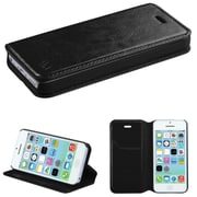 Insten Black MyJacket Wallet Case with Tray 561 For APPLE iPhone 5C