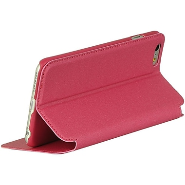 Insten K Style Stand Pouch Hot Pink/White For Iphone 6 Plus / 6S Plus