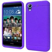 Insten Rugged Silicone Rubber Case For HTC Desire 626/626s - Purple