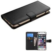 Insten Flip Leather Case For iPhone 6s Plus LG G5 G2 G3 Moto X (2nd Gen) Samsung Galaxy Note 7 3 4/Edge ZTE ZMax - Black