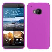 Insten Gel Case For HTC One M9 - Purple